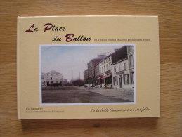 JUMET La Place Du Ballon En Vieilles Photos Et Cartes Postales  Régionalisme Charleroi Manège Forain Jeu De Balles - Belgium