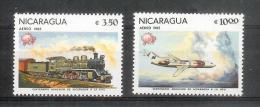 Nicaragua - UPU - Yv  A 984 - 985 ** MNH Postfrisch - Nicaragua