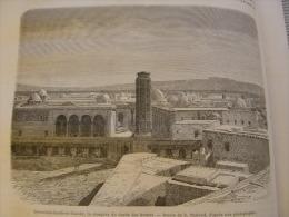 Tunisia Tunisie - Djeemaah Saheb El Taabah  Mosquee -   Gravure -wood Engraving  1872  P1872.264 - Estampes & Gravures