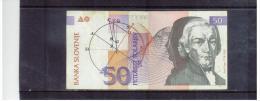 SLOWENIEN  ,  SLOVENIA  ,  15.1.1992  ,  50 Tolarjev  ,       Pick# 13   ,     Circ - Slowenien