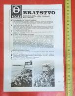 BNT BRATSTVO Novi Travnik (Bosnia) Crawler Tractor, Tracteur à Chenilles, Excavator, Caterpillar Bulldozer - Tracteurs