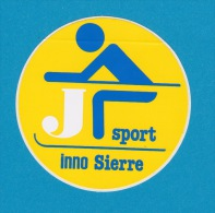 Autocollant - Innovation Sport à Sierre - Ski - Adesivo - Aufkleber - Sticker - Autocollants
