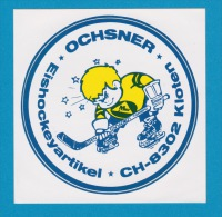 Autocollant - Hockey Sur Glace - Eishockey Ochsner Kloten - Adesivo - Aufkleber - Sticker - Autocollants