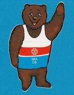 Autocollant - Banque Crédit Suisse - Ours - Bär - Bear - Adesivo - Aufkleber - Sticker - Autocollants