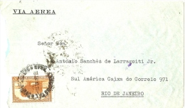 LBON9 - ARGENTINE - LETTRE AVION JUIN 1937 - Argentine