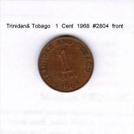 TRINIDAD & TOBAGO    1  CENT  1968  (KM # 1) - Trinidad & Tobago