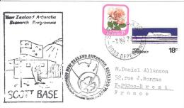 9913  SCOTT BASE -  AFFRANCHISSEMENT MIXTE - 3 November 1979 - Lettres & Documents