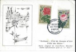 Carte Premier Jour/Orléans/ Cité Des Roses/Loiret/1962     CPDIV38 - France