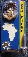 E.N.S.O.A , 225ème Promotion , Adj DIEME - Landmacht