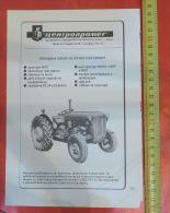 IMT 533 TRACTOR - - CENTROPROMET Irig (Serbia) Yugoslavia / Trade Commerce - Tracteur Traktor - Tracteurs