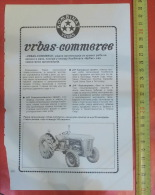 IMT 533 TRACTOR - Vrbas Commerce (Serbia) Yugoslavia / Trade - Tracteur Traktor - Traktoren