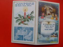 1959 Le Piccole Giustificatrici Del SS Nome Di Gesu' Vico Dei Venti A Foria Tematica RELIGIONE - Calendari