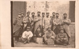 GROUPE DE POILUS  LES ENERGIQUES  SECTION DE FER 267 Compagnie 1914.1915. 1ère Section - War 1914-18