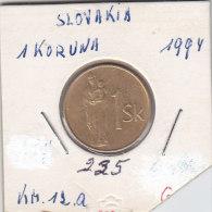 1 KORUNA 1994 - Slovaquie