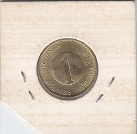 1 TOLAR 1992 - Slovaquie