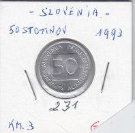 50 STOTINOV 1993 - Slovaquie