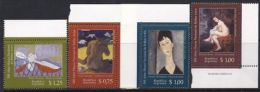Argentina 1996 SC 1949-1952 MNH Paintings Of Women Art - Argentina