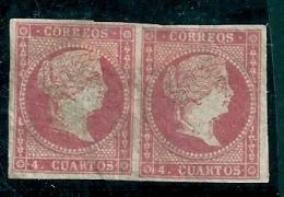 Spain 1855 Edifil 44  MM* - 1850-68 Kingdom: Isabella II