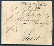 1821 Muhlheim Entire - Soest - Germany