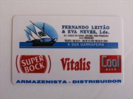 Beer Super Bock Portuguese Pocket Calendar 1999 - Tamaño Pequeño : 1991-00