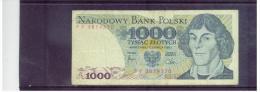 POLEN  ,  POLAND  ,  1.6.1982  ,   1000  TYSIAC  Zlotych   ,      Pick# 146    ,   Circ - Polen