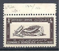GRAND LIBAN  N° 122 NEUF** LUXE