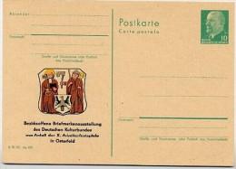 WAPPEN OSTERFELD 1968 DDR P75-2-68 C8  Postkarte ZUDRUCK - Briefe U. Dokumente