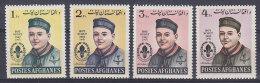 Afghanistan 1962 Mi. 695-98 A Afghanische Pfadfinderbewegung Bou Scouts MNH** - Afghanistan