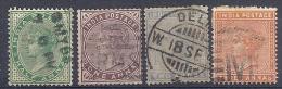131006439  INDIA  G.B.  YVERT Nº  33/35/37/38 - Indien (...-1947)