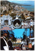 CP, MONACO, MONTE-CARLO, Multivues, Vierge, Ed : MOLIPOR - Monaco