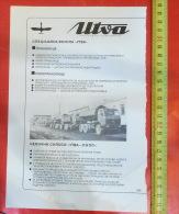 UTVA Pancevo Aviation Aircraft (Serbia) Yugoslavia / Manufactures Special Purpose Vehicles / MERCEDES TRUCK Camion LKW - Camion