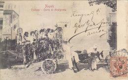 C-836- Napoli - Costumi - Carro Di Piedigrotta  - F.p.  Vg. 1901 - Napoli