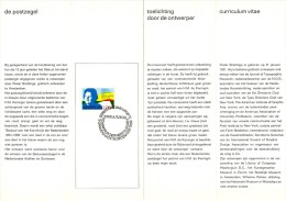 Relatiefolder P.T.T. - Statuutpostzegel 1969 - FDC