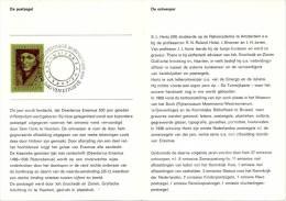 Relatiefolder P.T.T. - Erasmuspostzegel 1969 - FDC