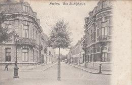 Cpa/pk 1905 Rousselare Roulers Wisselkantoor Rue St-Alphonse Moeilijke Kaart - Roeselare