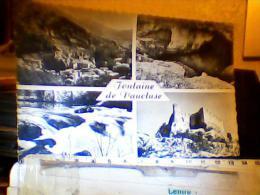 FRANCE FONTAINE DE VAUCLUSE MULTI  VUES  V1957 FH1800 - France