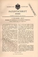 Original Patentschrift - J.E. Pregardien In Deutz - Cöln , 1890 , Schiffskessel Mit Flammrohren , Dampfkessel , Schiff ! - Schiffe