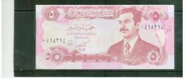 IRAK  ,  IRAQ  ,  5 Dinars  ,  1992  ,  Pick#80b - Irak