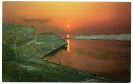 CP, MALTE, Sunrise Over The Grand Harbour, Vierge - Malte