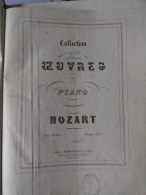 COLLECTION COMPLETE DES OEUVRES DE PIANO DE MOZART  (Livre MOZARD  E. PALLIOT) - M-O