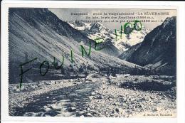 Carte  Du Dauphiné Dans Le Valgaudemard  Séveraisse  Pic Des Aupillous Col Du Sellar Pic Jocelm ( Recto Verso ) - France