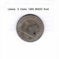LIBERIA   5  CENTS  1960  (KM # 14) - Liberia