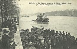 PARIS _ - Port De La Conférence - Grande Crue De La Seine (janvier 1910)         -- ND 52 - Arrondissement: 08