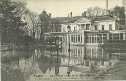 PARIS _ - Le Restaurant Ledoyen Aux Champs-Elysées- - Grande Crue De La Seine (janvier 1910)         -- ND 131 - Arrondissement: 08