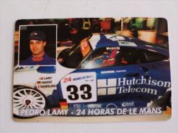 Rally/Pedro Lamy Portuguese Pocket Calendar 1998 E - Calendriers