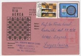 Postcard - Argentina, Chess    (V 19369) - Argentina