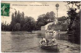 YZEURES - Vue De La Creuse Prise Du Moulin    (61251) - Francia