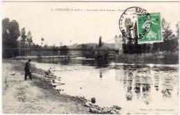 YZEURES - Les Bords De La Creuse - Pont Suspendu (61256) - Other Municipalities