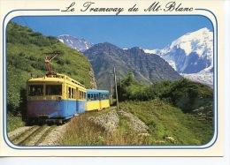 Saint Gervais Les Bains - Le Tramway Du Mont Blanc Aiguilles De Bionnassay En été N° 4/267/010 TMB - Saint-Gervais-les-Bains