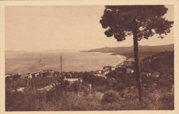 Carte Postale Ancienne,83,VAR,LE LAVANDOU,EN 1920,VEGETATION NON ENTRETENUE,CAP BENAT,MER,BATEAU - Le Lavandou